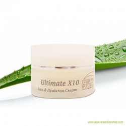 Aloe Vera Ultimate X10 Creme 50ml
