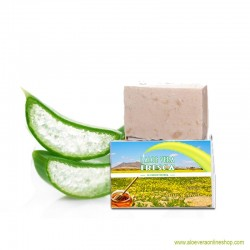 Aloe Vera Soap Honey 80g