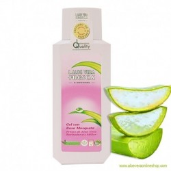 98% Aloe Vera Gel with Wild Rose Oil 250ml