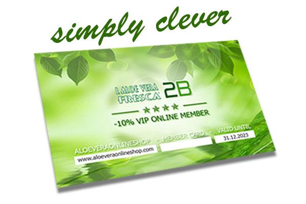 Aloe Vera Fresca 2B - VIP ONLINE CARD