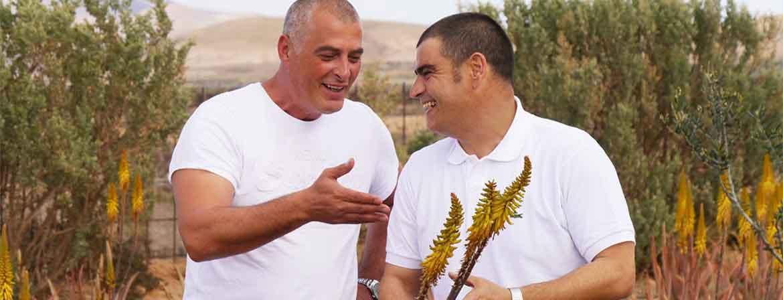 Aloe Vera Fresca Luciano & Marco Fuerteventura Plantage / Finca / Pflanze