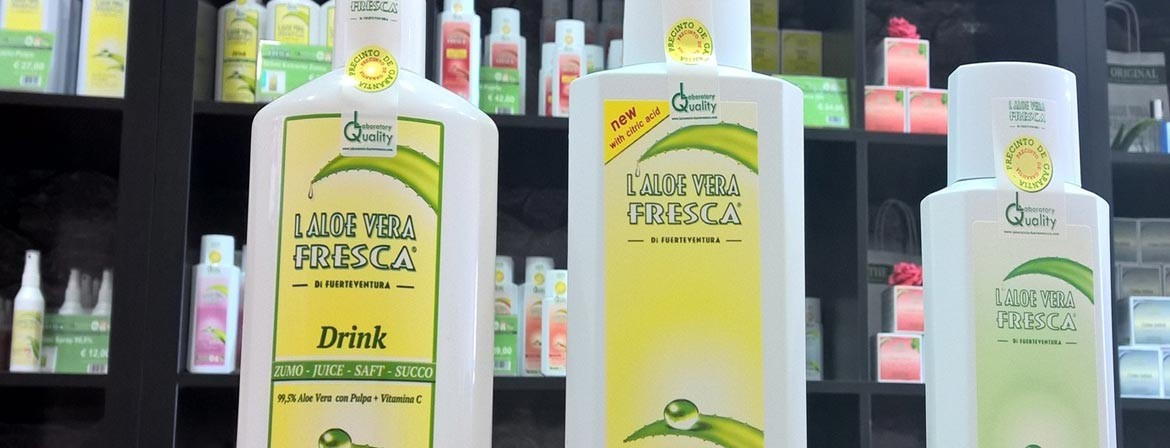 Aloe Vera Fresca Fuerteventura - DRINK- GEL - PRODUCTS